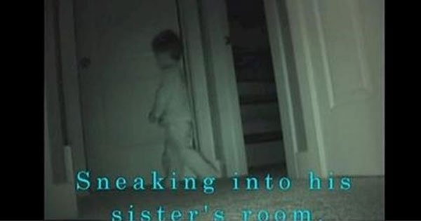 Boy Sneaks Into Sister's Room. What The Hidden Camera Reveals Even Surprises Her Parents.