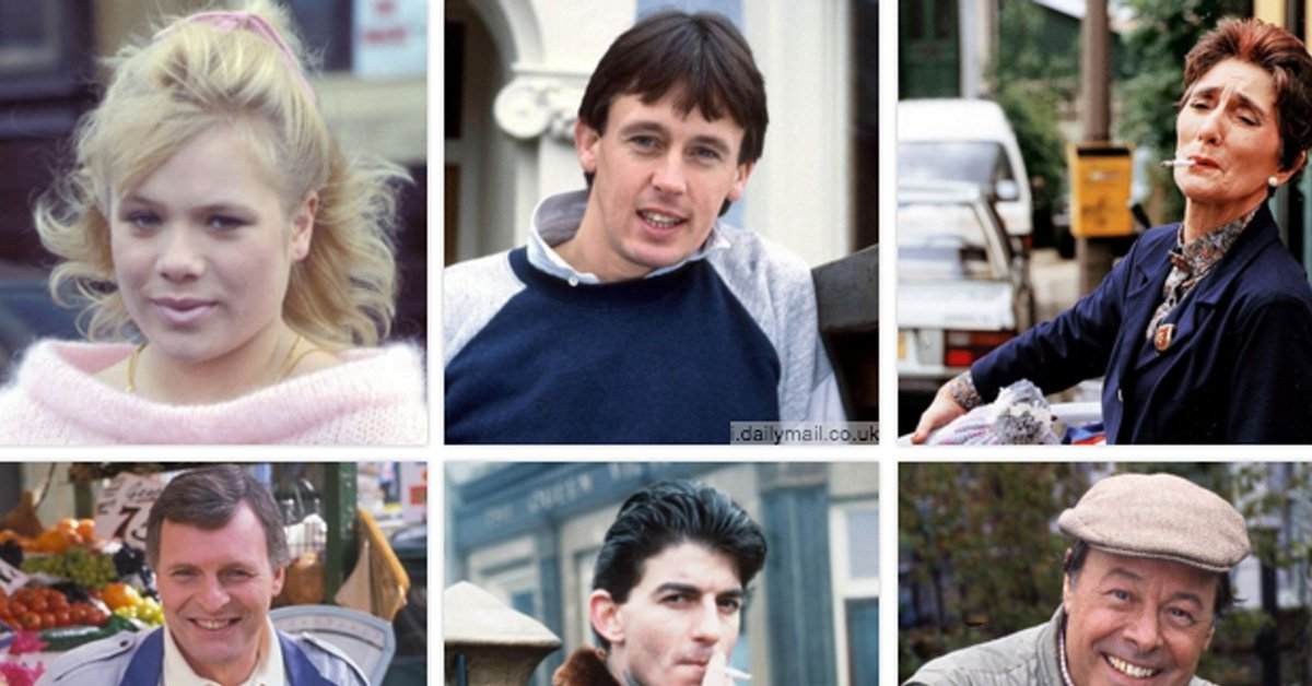 TEST YOURSELF: Can You Correctly Name These 18 Eastenders Characters From The Original Cast?