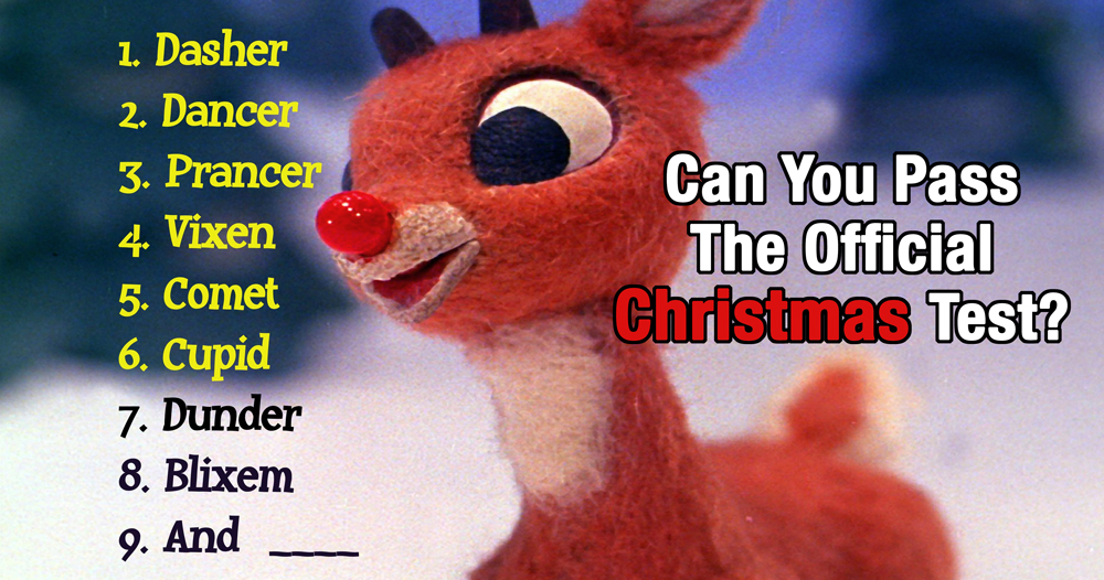 TEST YOURSELF: Can You Pass The Official Christmas Test?