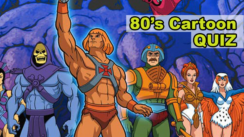 TEST: Can You Name These Cartoon Characters From 1980's?