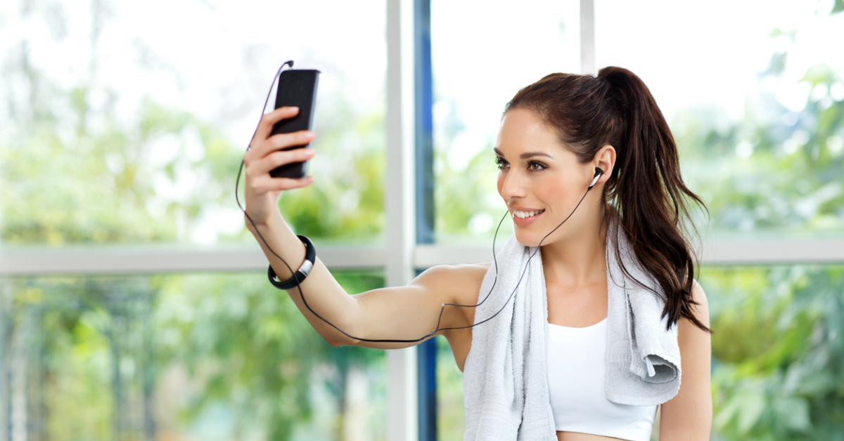 Bad News For People Who Post Selfies At The Gym