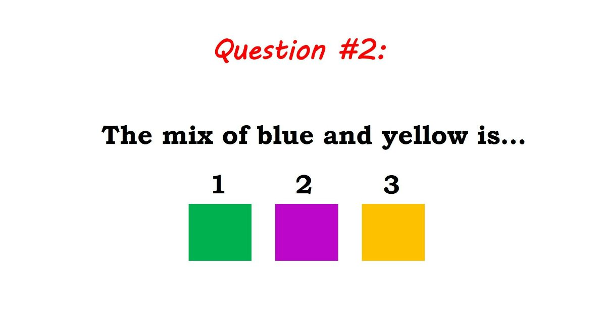 TEST: Can You Get An A+ On This Sample Genius Test For Kids?