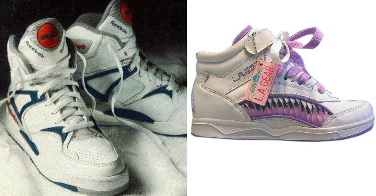 12 Shoes All Kids From The 80's Will