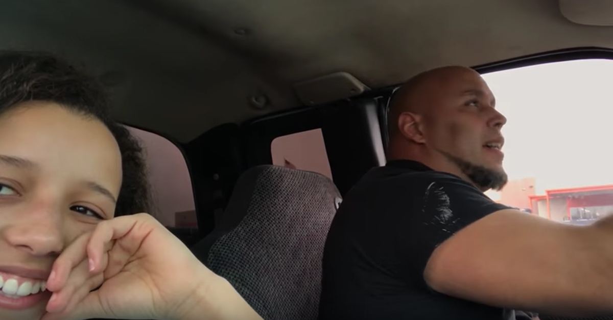 Girl Films Her Dad Singing In The Car And Has Made All Our Hairs Stand On End