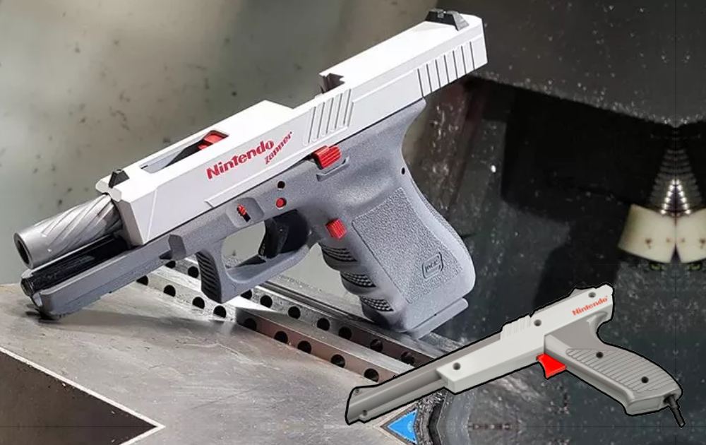 Someone Turned the Gun From Duck Hunt Into A Real Glock
