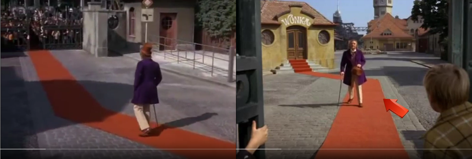 Movie Mistakes In Willy Wonka And The Chocolate Factory
