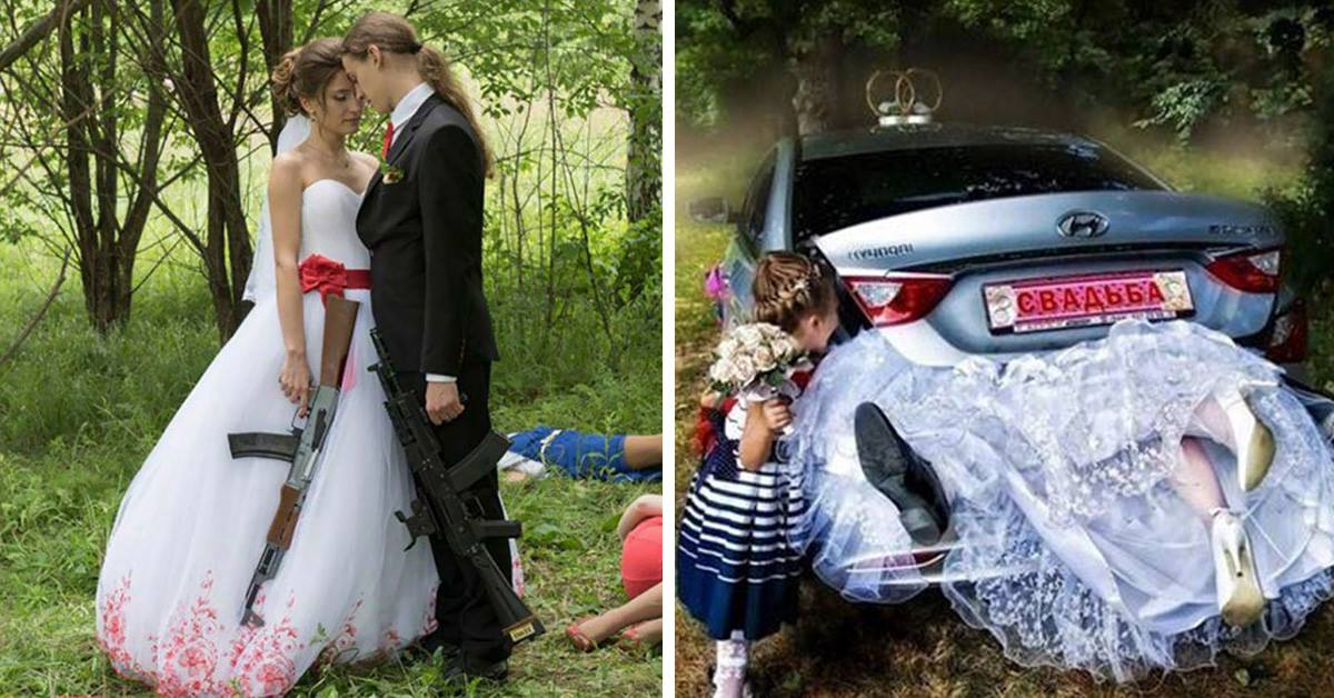 These 27 Russian Wedding Photos Will blow your mind