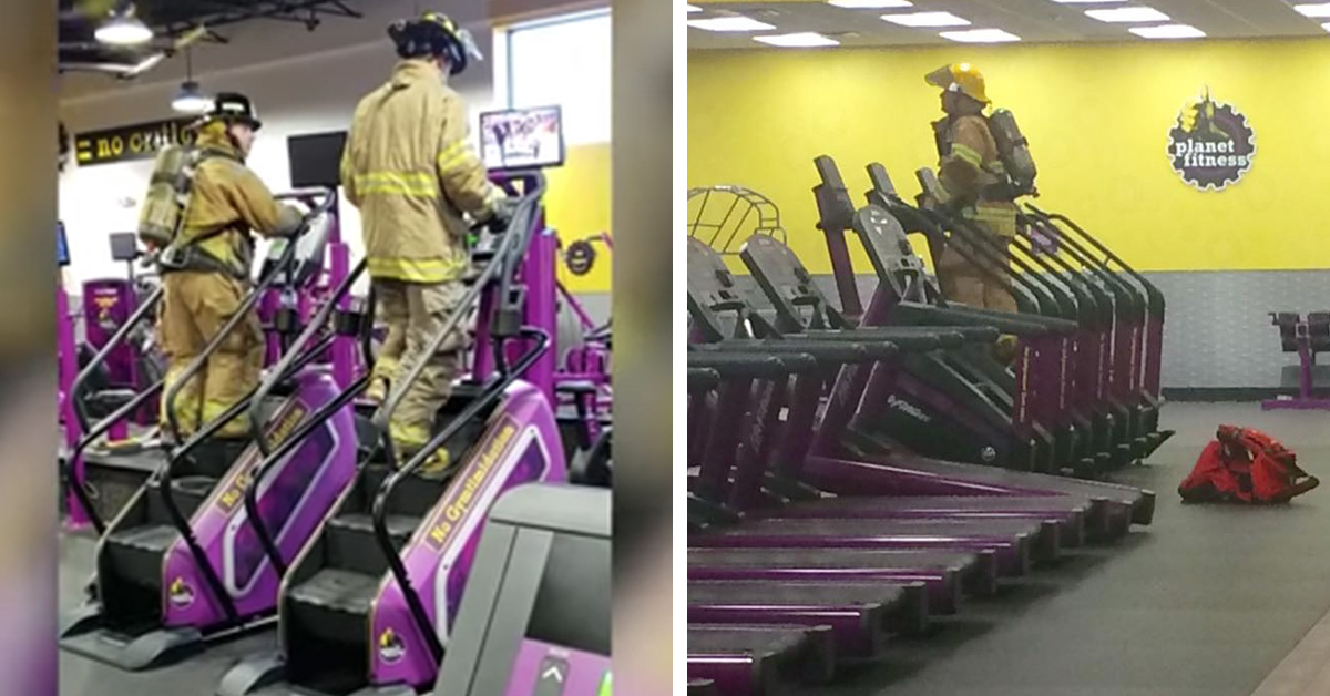 Firefighters In Full Uniform Climbed 110 Stories To Honour Victims of 9/11