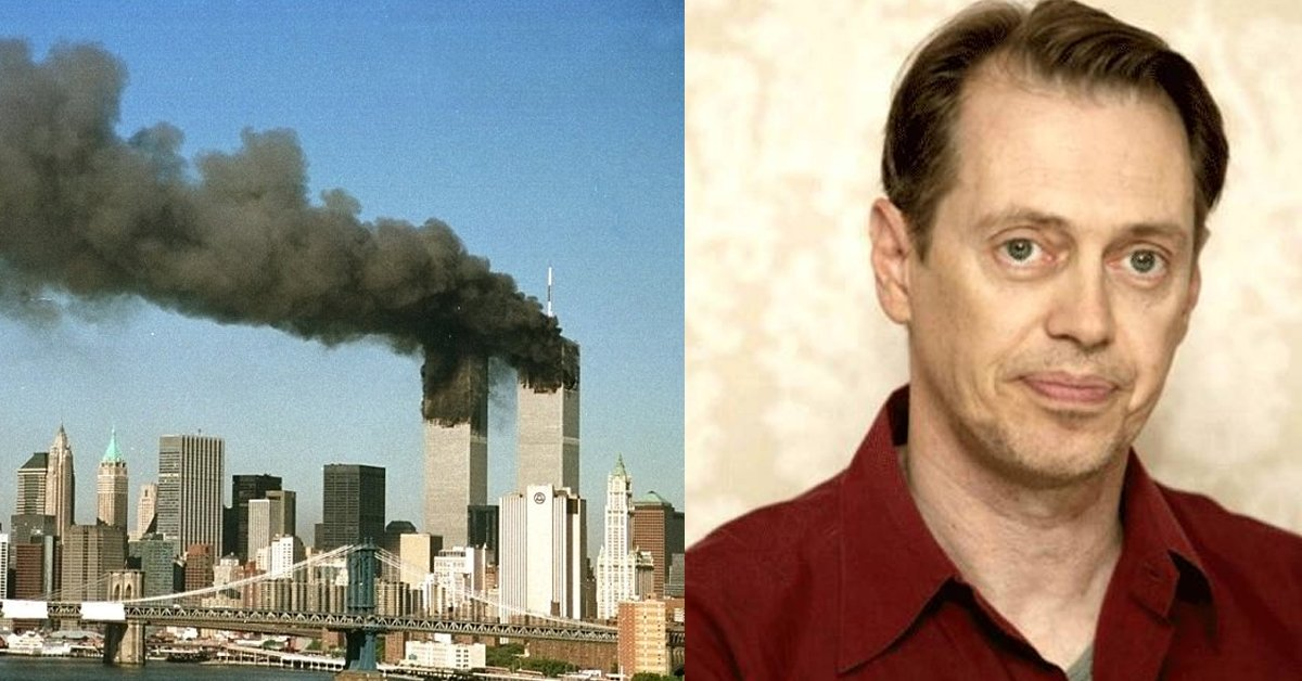 There Were 343 Firefighters Present At 9/11 – And Steve Buscemi Was One Of Them