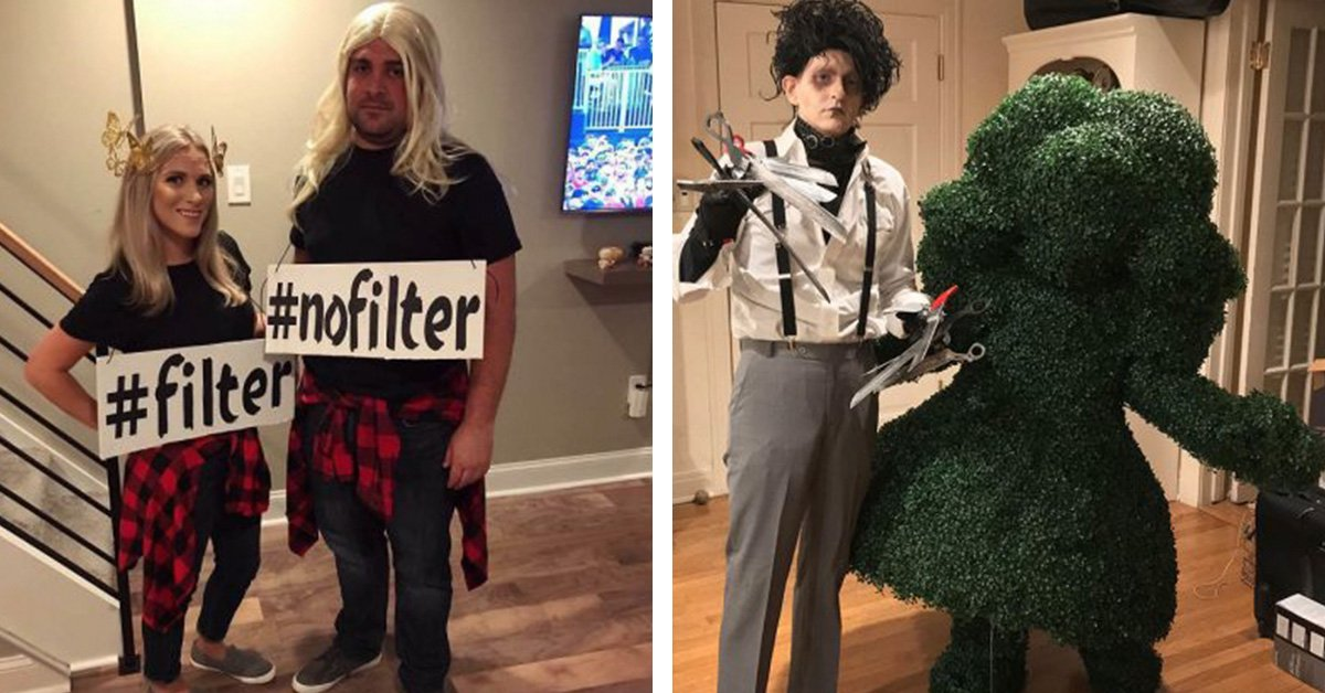 Not A Fan Of Couples Costumes? Well These 25 Hilarious Efforts Will DEFINITELY Change Your Mind!