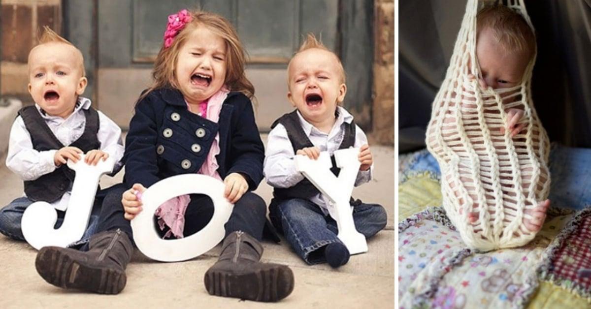 14 HILARIOUS Baby Photo Shoot Fails!  Copy