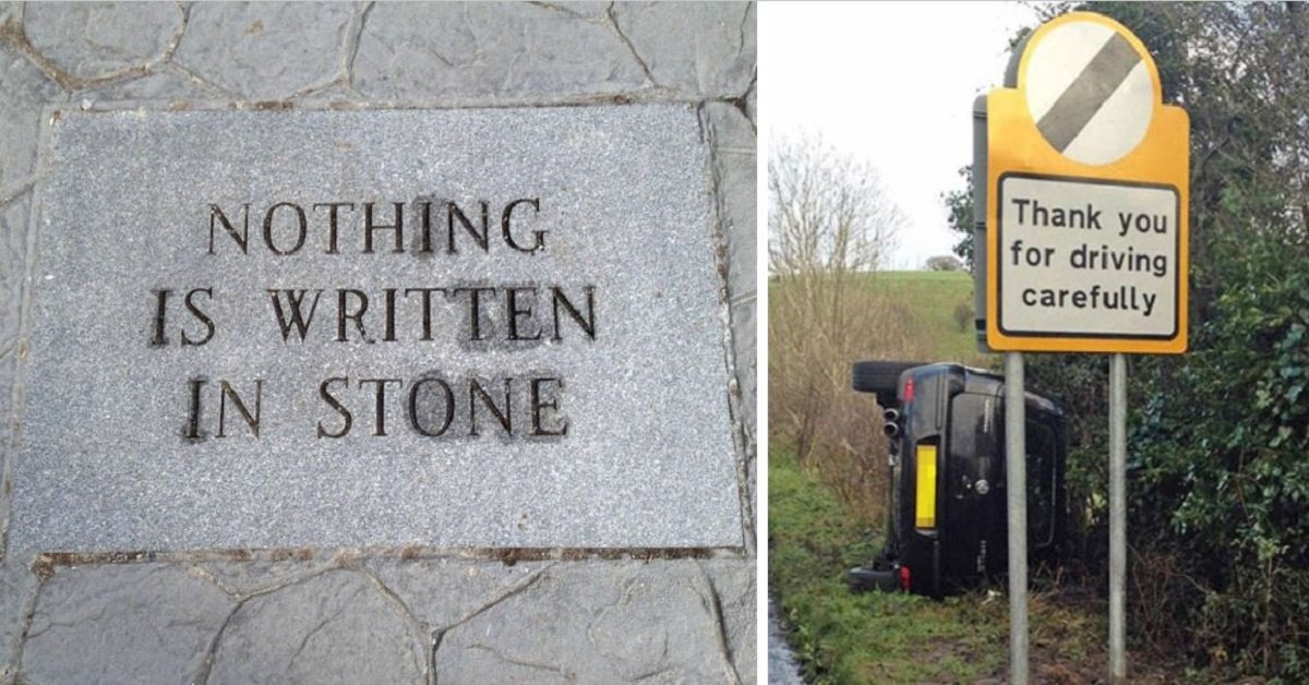 15+ Perfect Examples Of Irony In Daily Life