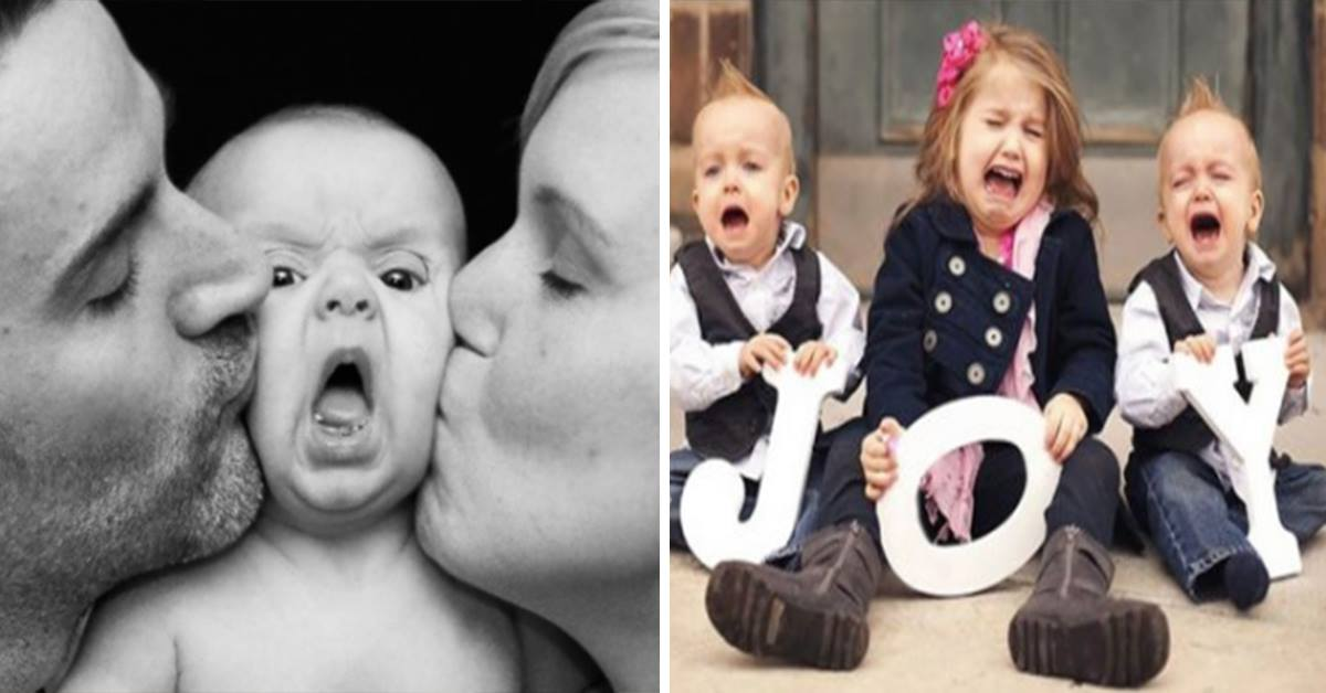 14 A Perfect Photo Shoot Was The last Thing On These Babies Minds