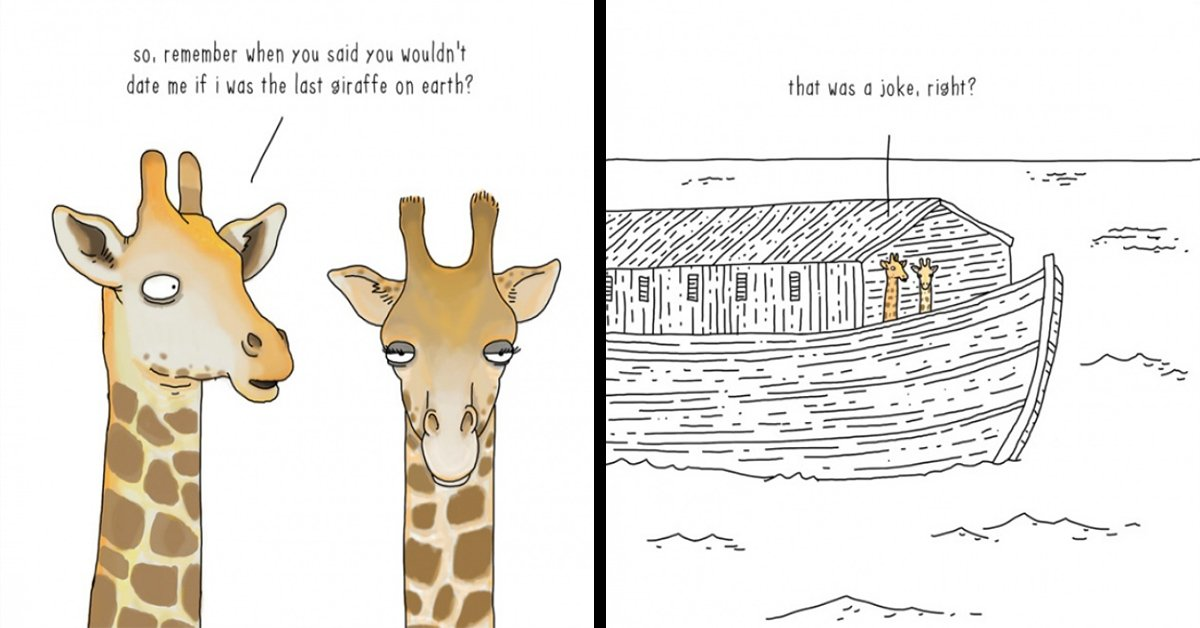 20 Comic Strips That Show What Animals Are REALLY Thinking About