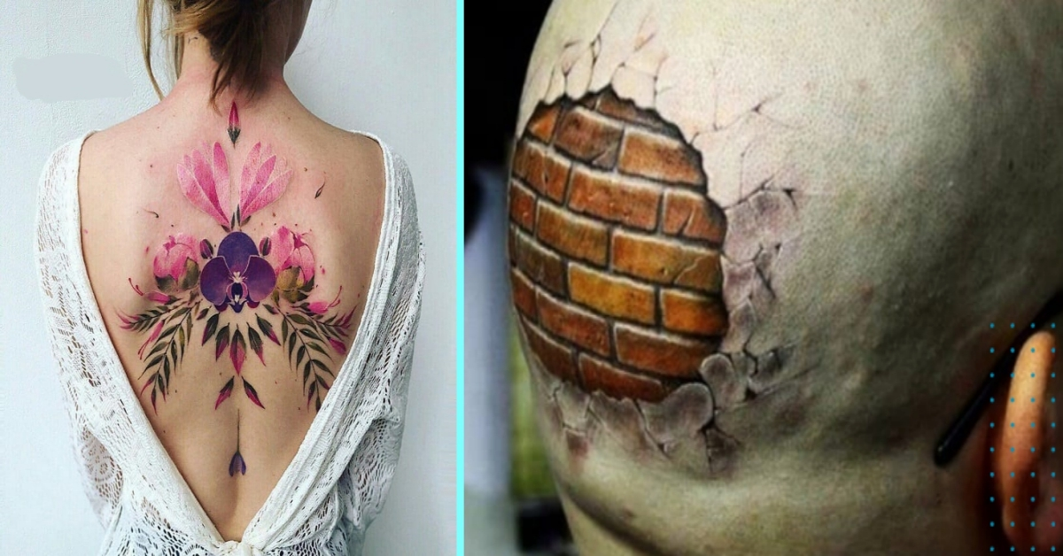 20 Tattoos That Beautifully Combine The Bold With The Beautiful
