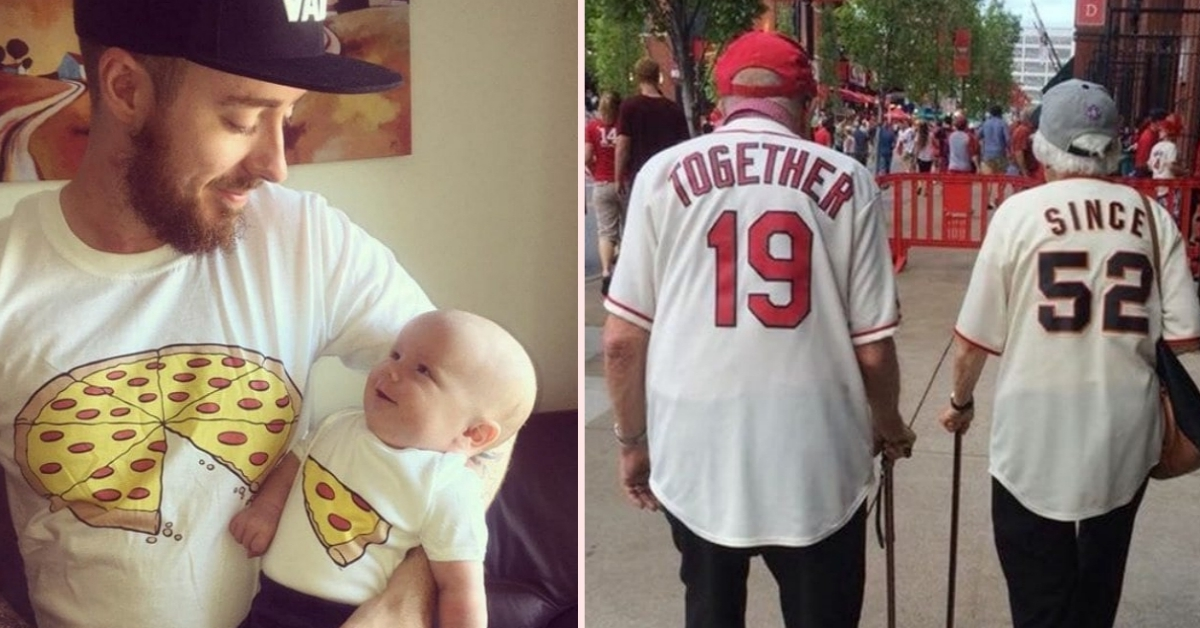 20 Cute T-Shirt 'Pair Ups' That Are Just Too Adorable For Words