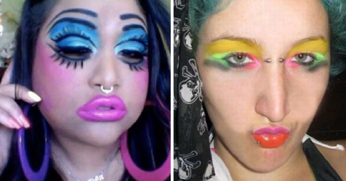 22 Makeup Fails That Will Haunt Your