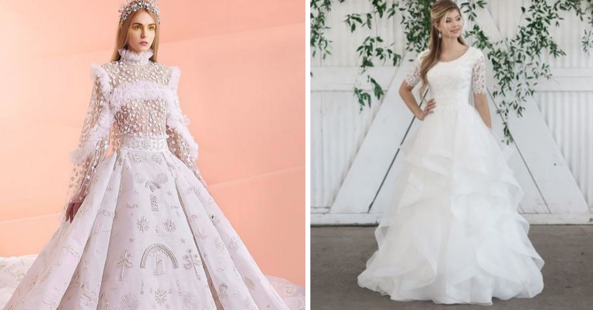 The 20 Most Desirable Wedding Dresses Have Been Revealed