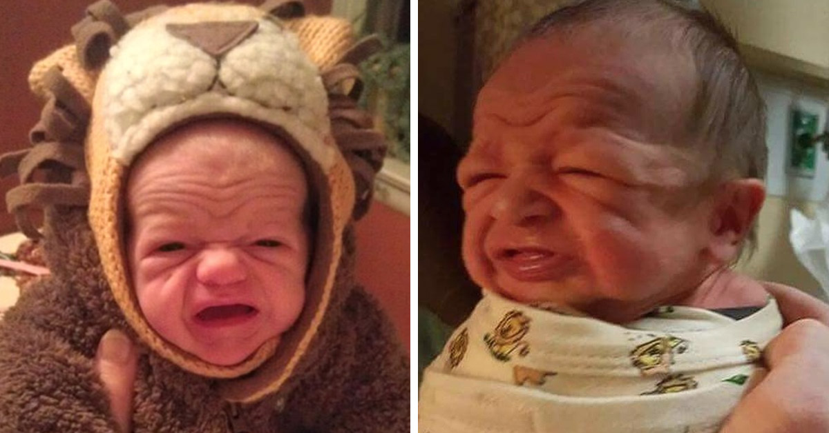 20 Hilarious Photos That Prove Babies Look Just Like Adorably Small Senior Citizens