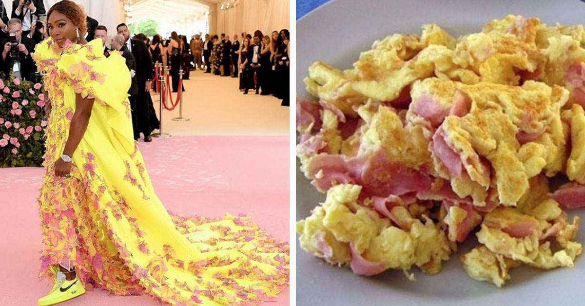 Serena Williams' 'Scrambled Eggs