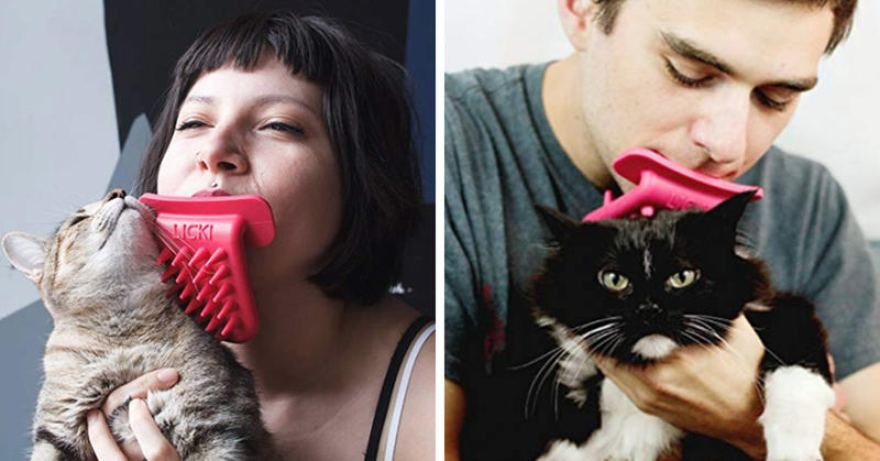 Now Crazy Cat Ladies Can Enjoy 'Intimate Cat Licking Ritual' With Giant Rubber Tongue Toy