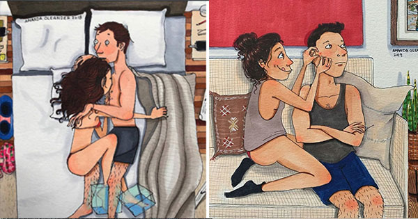 Honest Illustrations Show What Happens Behind Closed Doors In Every Relationship