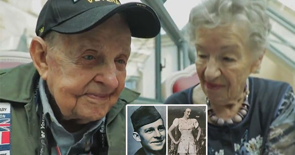 Soldier Reunites With French Woman He Fell In Love With 75 Years Ago During WW2