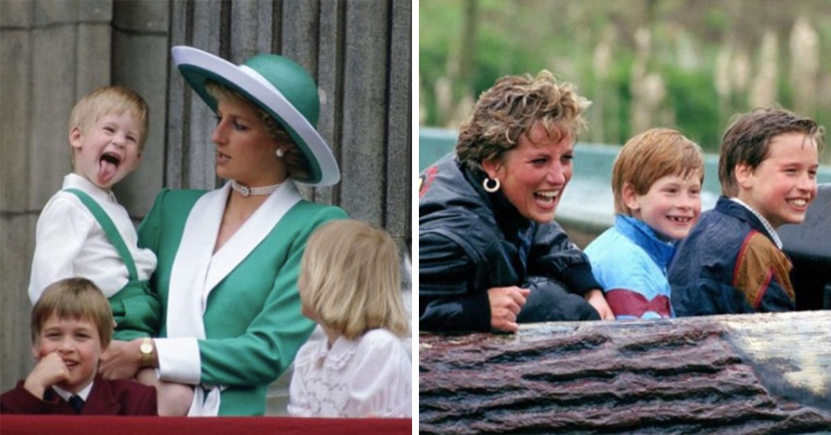 These 13 Vintage Photos Of Princess Diana With Prince William And Prince Harry Are The Sweetest Thing You'll See Today
