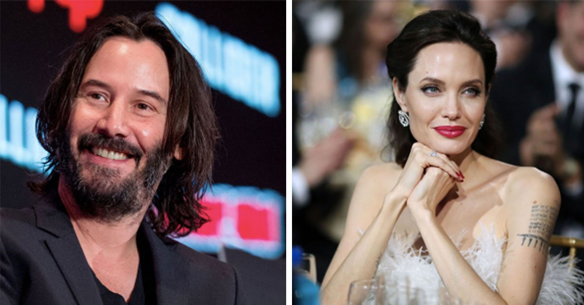 Keanu Reeves And Angelina Jolie Are Rumoured To Be Dating