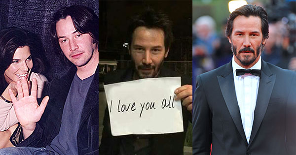 Awesome Reasons To Love Keanu Reeves Even More Than You Already Do!