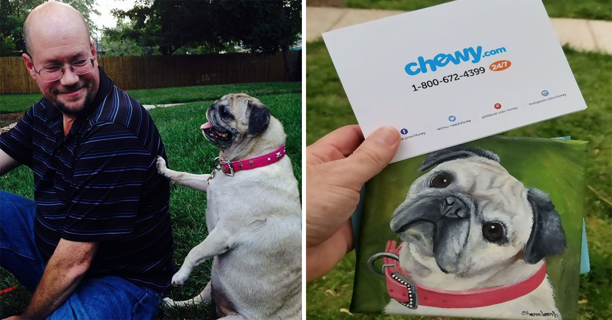 Man Requests Dog Food Refund After Dog Dies But Receives Unbelievably Touching Gift Instead
