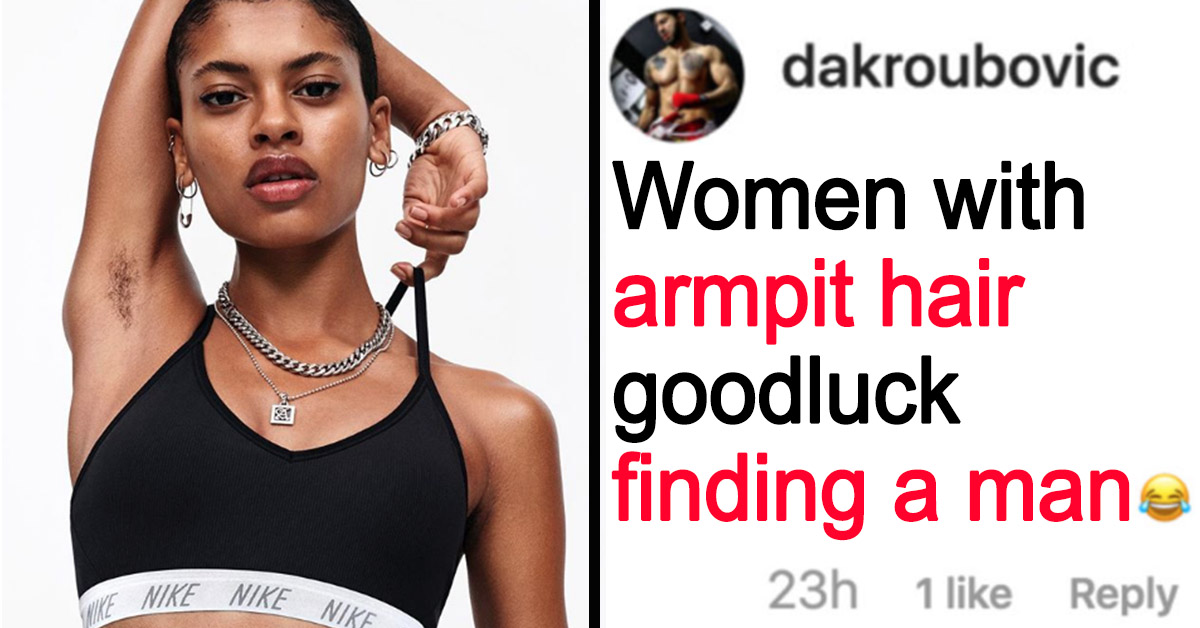 Nike Faces Ridiculous Backlash After Featuring A Model Sporting Underarm Hair